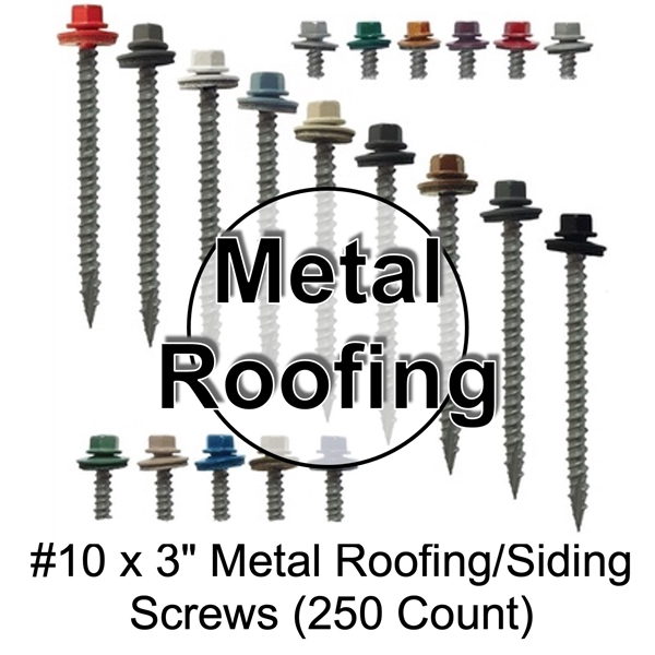mechanical galvanized sheet metal roofing screws