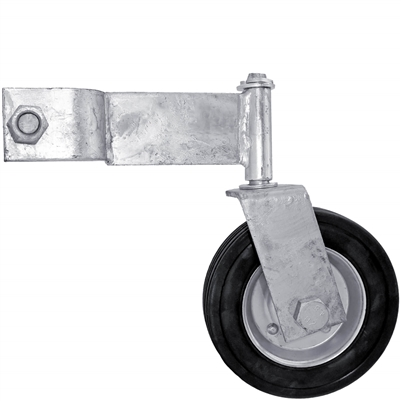 Chain Link Swing Gate Helper Wheel Swivel Gate Wheel